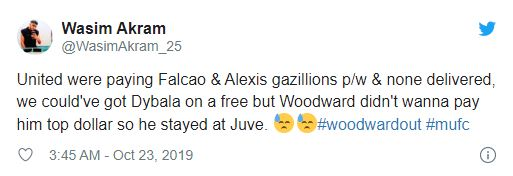 United fans react to Paulo Dybala scoring Champions League brace for Juventus - Bóng Đá