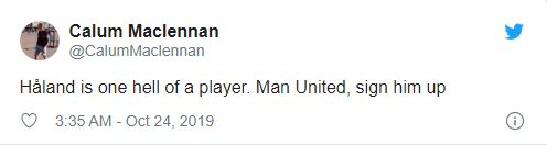 Manchester United fans say the same thing after Erling Haaland scores brace in Champions League - Bóng Đá