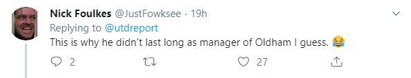 Man United fans react to Ozil  - Bóng Đá