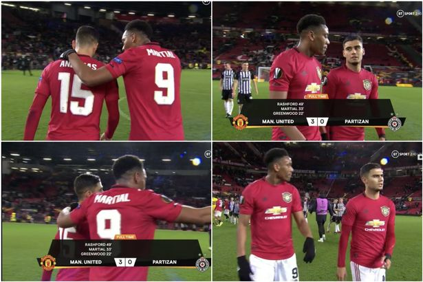 Manchester United fans noticed what happened between Anthony Martial and Andreas Pereira - Bóng Đá