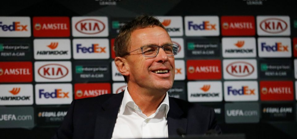 Man Utd fans react to Ralf Rangnick managerial links - Bóng Đá