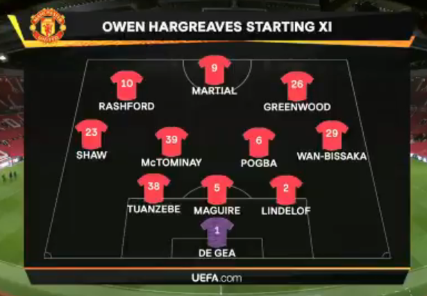 Owen Hargreaves picks his best Man Utd team for the rest of the season - Bóng Đá