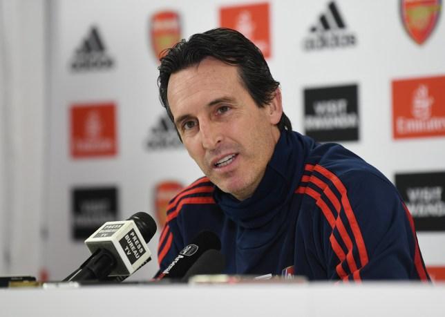 Unai Emery explains reasons why Arsenal have struggled this season - Bóng Đá