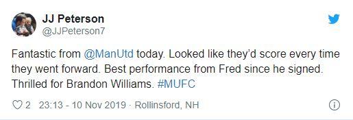 Manchester United fans react to Fred's performance v Brighton - Bóng Đá