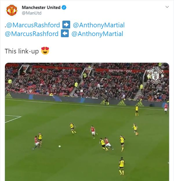 Manchester United: Fans go crazy over Anthony Martial and Marcus Rashford link-up play - Bóng Đá