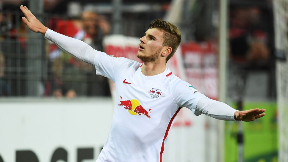 RB Leipzig boss would let Timo Werner leave for Liverpool, Manchester United - Bóng Đá