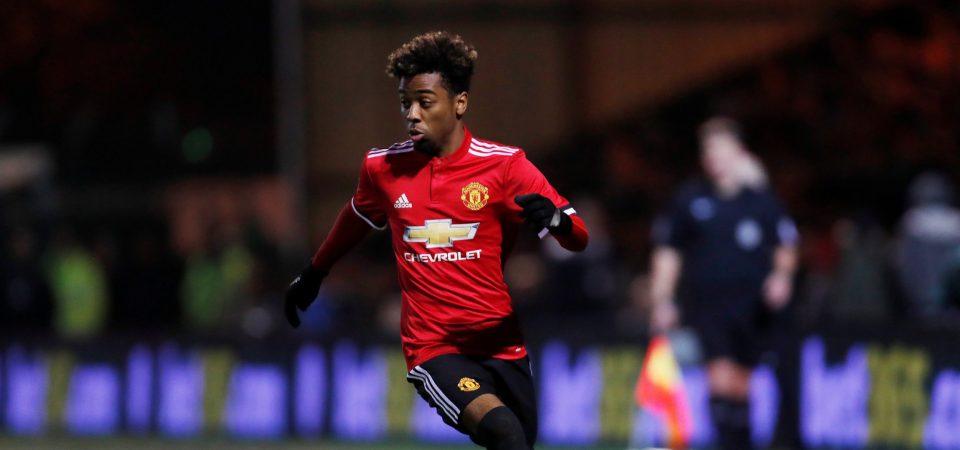 Man Utd fans rave about Angel Gomes after hat-trick of assists for England U20s - Bóng Đá