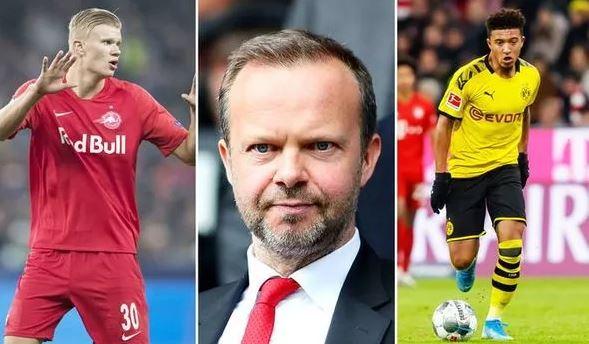 Man Utd chief Ed Woodward has eight-man January transfer list including Erling Haaland - Bóng Đá