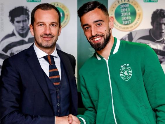 Bruno Fernandes signs new Sporting Lisbon deal - Bóng Đá