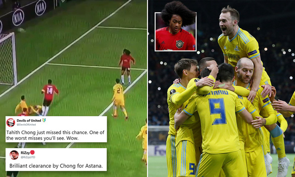 Man United fans tear into Tahith Chong for awful display vs Astana - Bóng Đá