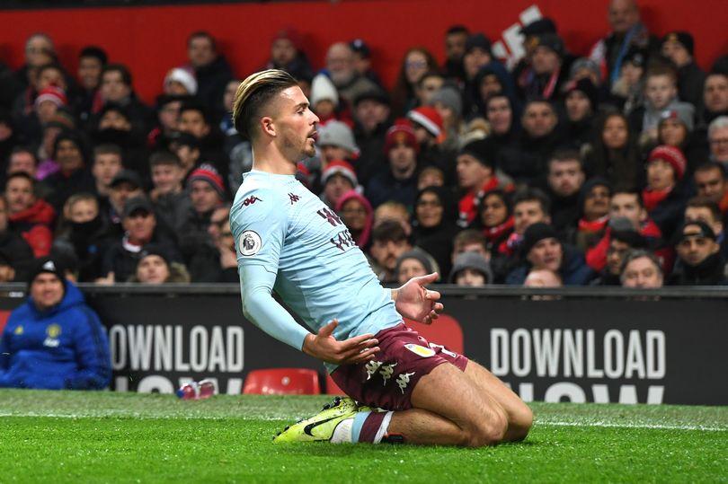 Aston Villa ace Jack Grealish 'precisely the type of player' Man Utd need - Bóng Đá