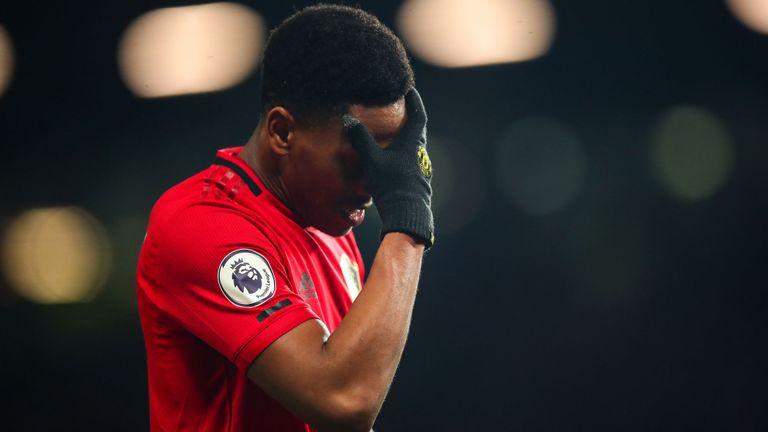 Anthony Martial set to miss Manchester United's clash against Tottenham - Bóng Đá