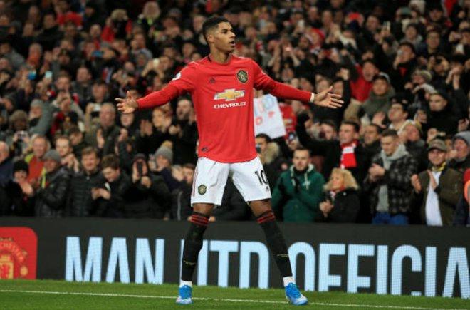 'Unplayable'... United fans react to Marcus Rashford's performance - Bóng Đá