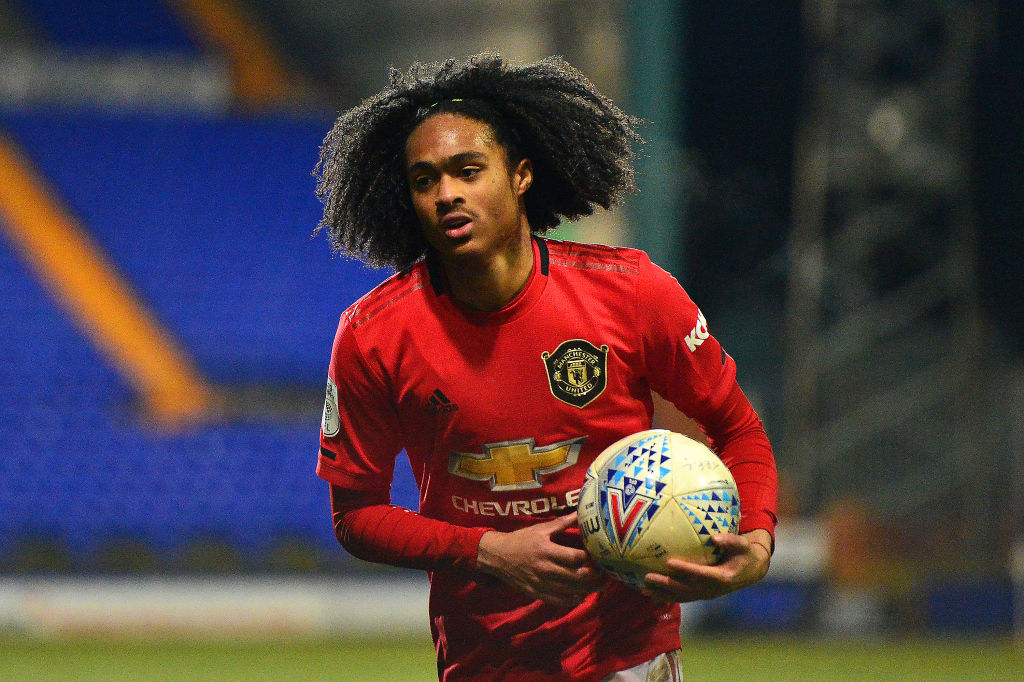 Tahith Chong bounces back with two goals for United in EFL Trophy defeat - Bóng Đá
