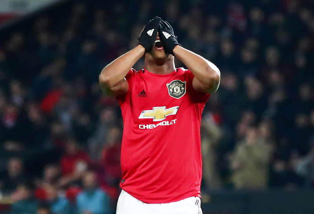 Manchester United's most disappointing player against AZ Martial - Bóng Đá
