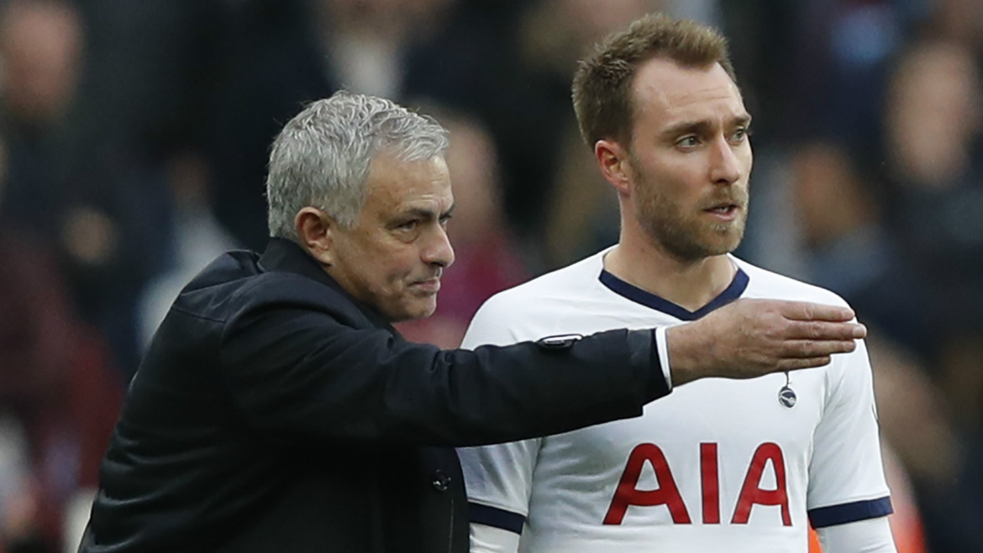 Jose Mourinho admits Christian Eriksen has made a decision over his future ahead of probable January move - Bóng Đá
