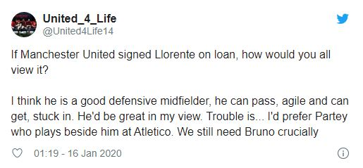 United fans react to Marcos Llorente transfer rumours - Bóng Đá