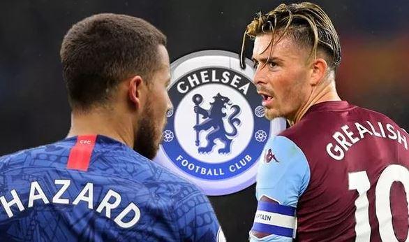 Chelsea urged to beat Man Utd to Jack Grealish transfer as Eden Hazard comparison made - Bóng Đá