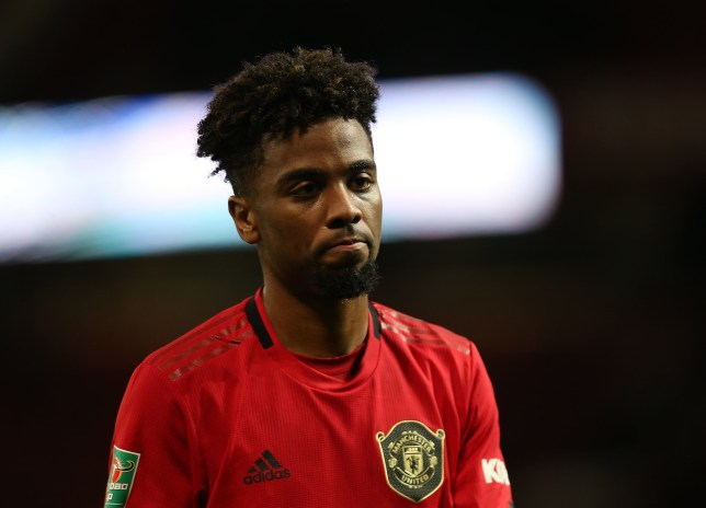 United fans frustrated Angel Gomes didn't get a chance - Bóng Đá