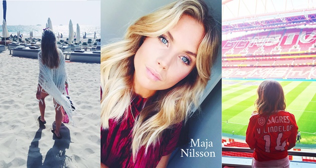 Man Utd star Victor Lindelof's wife enjoys winter break with hot bikini snaps - Bóng Đá