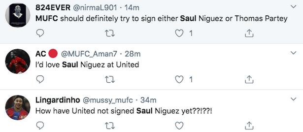 Man Utd fans demand Saul Niguez transfer after Liverpool Champions League goal - Bóng Đá