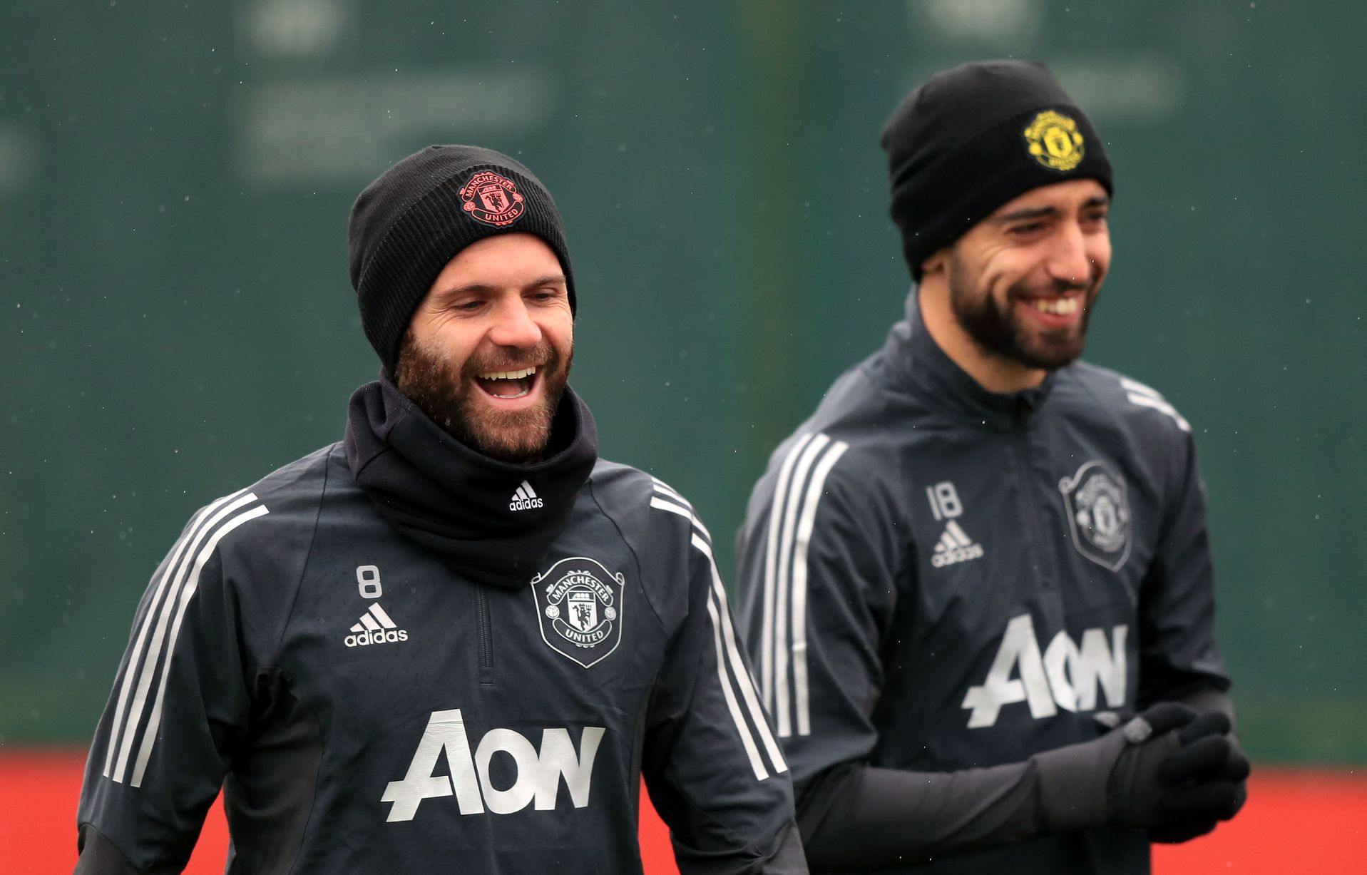 Pictures: Manchester United players train ahead of Club Brugge game - Bóng Đá