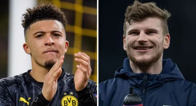 Jamie Carragher tells Liverpool to sign both Jadon Sancho and Timo Werner in the summer - Bóng Đá