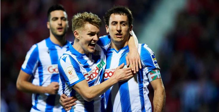 Real Sociedad Beat Mirandes, Advance to 2020 Spanish Copa del Rey Final - Bóng Đá
