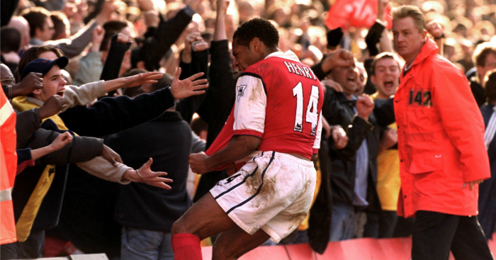 Thierry Henry auctions 100th Arsenal goal shirt to raise money for NHS charities in coronavirus fight - Bóng Đá