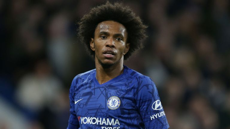 Willian says Chelsea contract renewal beyond summer is 'unlikely' - Bóng Đá