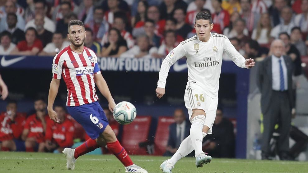 James Rodriguez's move to Atletico 'died' after 7-3 win against Real Madrid - Bóng Đá