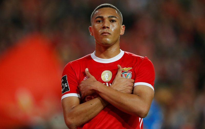 Manchester United 'line up £35m move for Benfica striker Carlos Vinicius' - Bóng Đá
