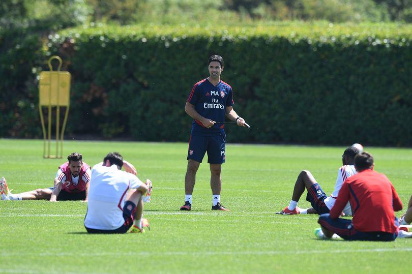 Ảnh tập Arsenal vs Man City - Bóng Đá