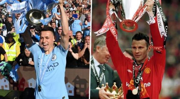 'Foden can top Giggs' 25 trophies' – Lescott sees Manchester City star bettering United legend - Bóng Đá