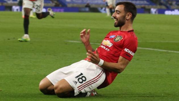 Fernandes xuất săc nhất tháng Premier league - Bóng Đá