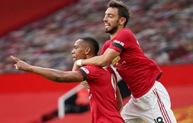 Bàn thua phút cuối khiến Man Utd lỡ cơ hội vào top 3 - Bóng Đá