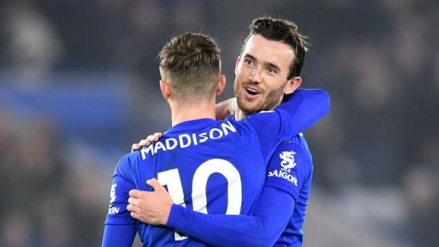 Leicester City: James Maddison, Ben Chilwell and Christian Fuchs to miss rest of season - Bóng Đá
