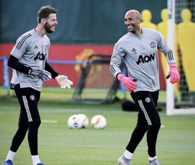 Ảnh tập Man Utd trận LASK - Bóng Đá