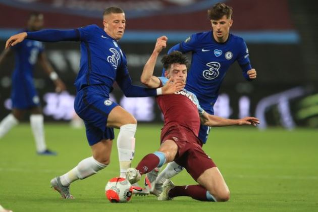 Four Chelsea players set for exit door which could fund Declan Rice transfer - Bóng Đá