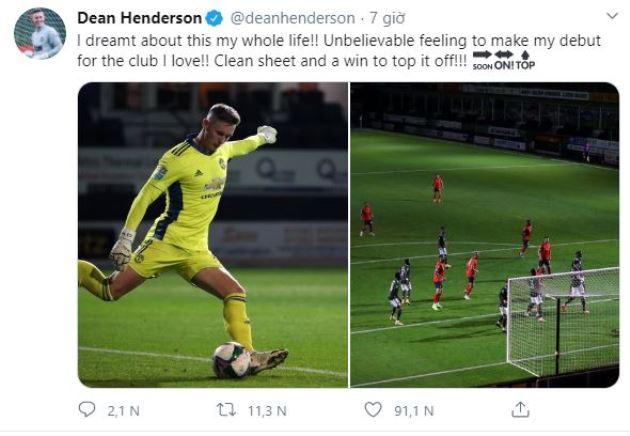 Man United's Henderson sends out statement of intent to De Gea - Bóng Đá