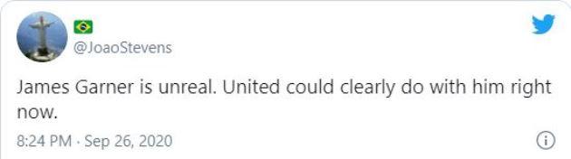 Watford fans react to James Garner's performance on first Championship start - Bóng Đá