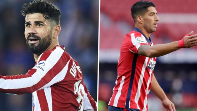 Costa on Suarez - Bóng Đá