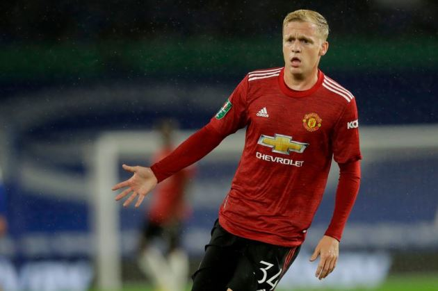 Donny van de Beek hails unsung Manchester United hero in win vs Brighton - Bóng Đá