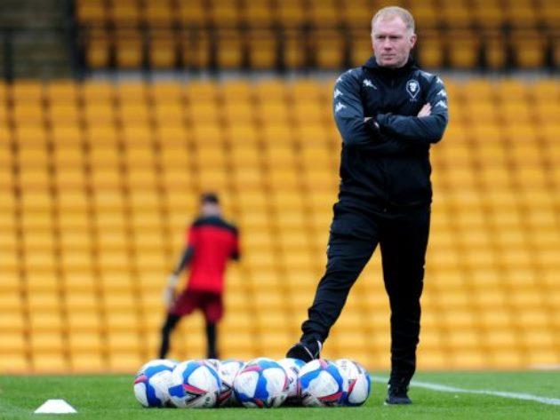 Paul Scholes rules himself out of Salford job after defeat at Port Vale - Bóng Đá