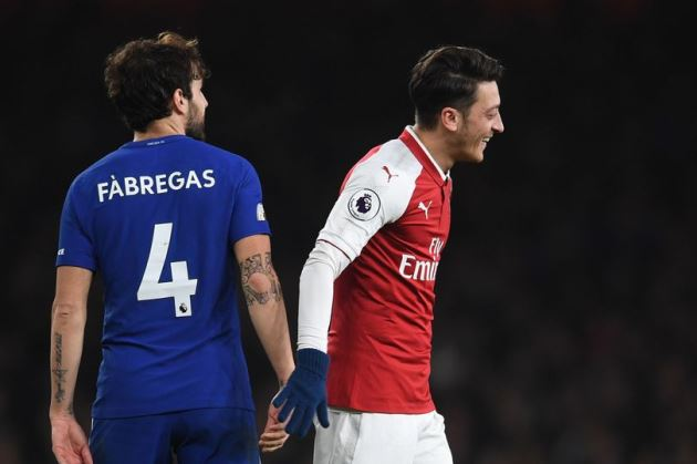 Cesc Fabregas names Arsenal's best five players of the Emirates era and makes Mesut Ozil claim - Bóng Đá