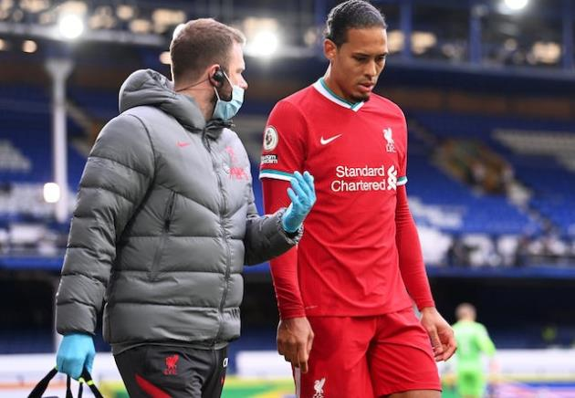 Jurgen Klopp: 'Virgil Van Dijk injury difficult to accept' - Bóng Đá