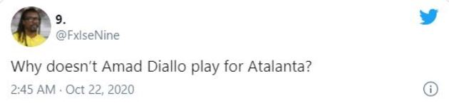 These Man United fans react as new signing Amad Diallo Traore is left out by Atalanta vs Midtjylland - Bóng Đá