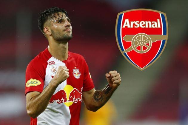 'Sign Szoboszlai in January!' - Arsenal fans send transfer message to Edu and Mikel Arteta - Bóng Đá