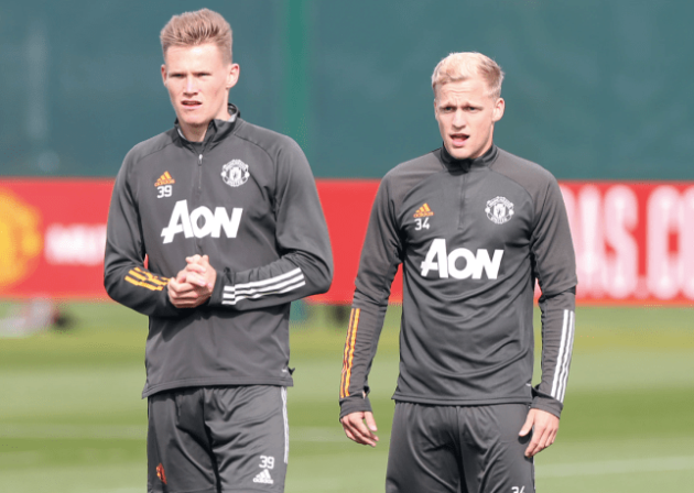 No need to panic' – Scott McTominay confident Donny van de Beek will become 'important figure' for Manchester United - Bóng Đá