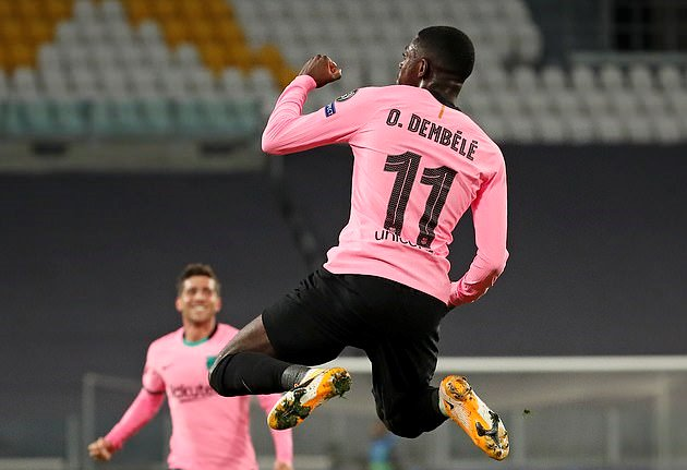 Man Utd muốn mượn Dembele.